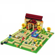 building, Toy, Garden, Horror