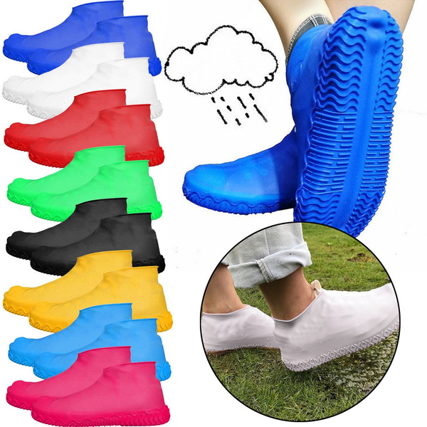 Silicone Overshoes Rain Waterproof Shoe Cover Protector Recyclable HI