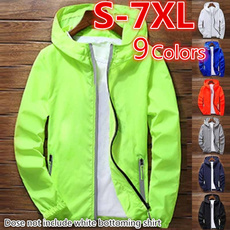 waterproofcoat, Fashion, hoodedjacket, unisex