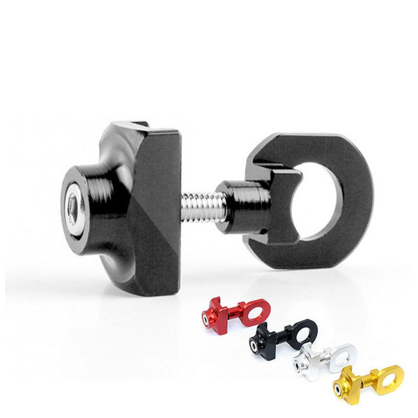 bicycle chain adjuster tensioner aluminum alloy bolt for bike single speeRKFS
