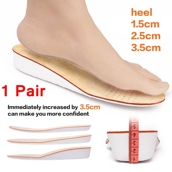 Orthopedic Pain Relief Leather Latex Insole Shoes Pads Foot Health Care