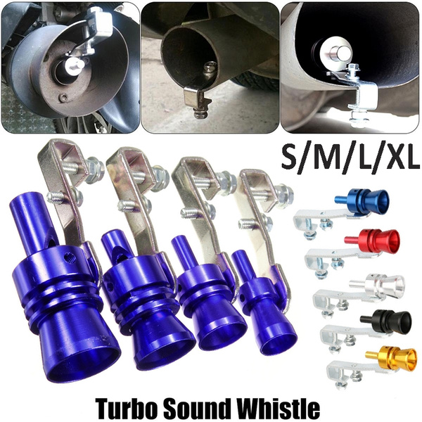 Car Exhaust Pipe Blowoff Valve Simulator Turbo Sound Whistle (Tail  Pipe:44-55 mm)