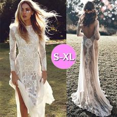 Bridesmaid, long skirt, Fashion, Lace