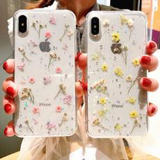 case, Flowers, Apple, Iphone 4