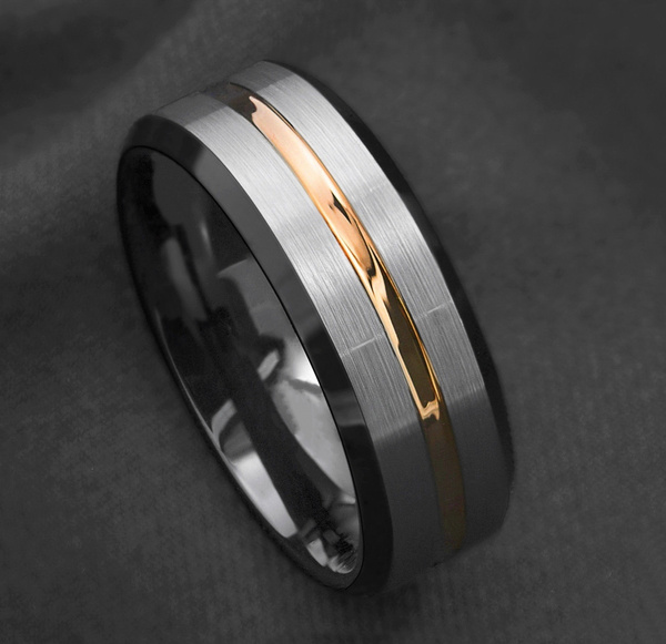 ringsformen, weddingengagementring, 8MM, Gifts For Men