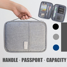 Waterproof, Travel, Credit Card Holder, Storage