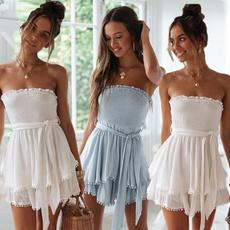 Summer, Fashion, ruffle, Dress