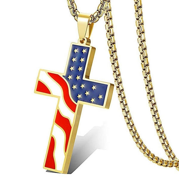 Fashion, Jewelry, Cross Pendant, Stainless Steel