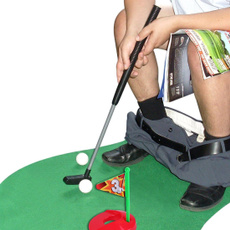 toiletgolf, minigolfset, golftrainingset, Golf