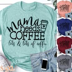 Summer, Coffee, momshirt, summerfashiontop