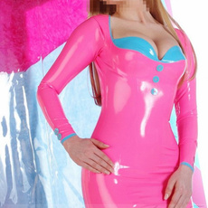 pink, latex, Fashion, Cosplay