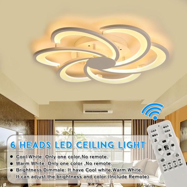 Modern Ceiling Light 5/6 Heads Dandelion Modern LED Acrylic Ceiling Light  Chandeliers Living Room