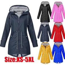 Casual Jackets, waterproofcoat, hooded, Sleeve