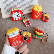 case, Headset, Protective, Hamburger