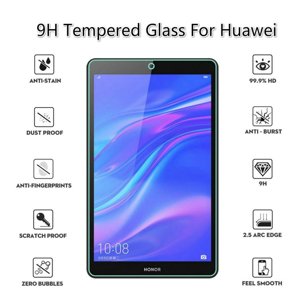 M5 Lite 10 9H Tempered Glass Protector Guard Film For Huawei C5