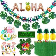 luauparty, decoration, flamingo, Hawaiian
