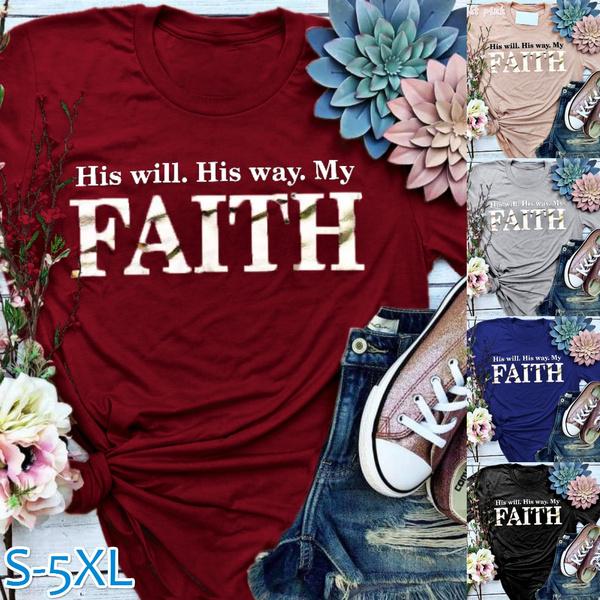 christiantshirt, Fashion, Christian, letter print
