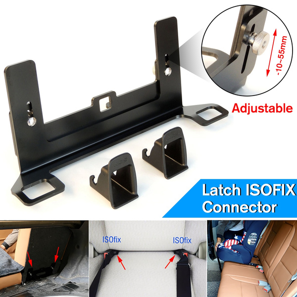 Autos Cars Safety Seat Bracket ISOFIX Mount Base Autos Cars Child Safety Seat Bracket Latch Metal Handy for A4 A6