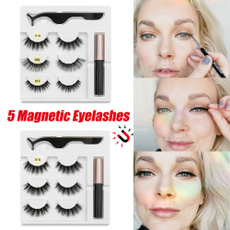 Eyelashes, minkfalseeyelashe, Fashion, eye