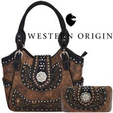 brown, women purse, westernhandbag, purses