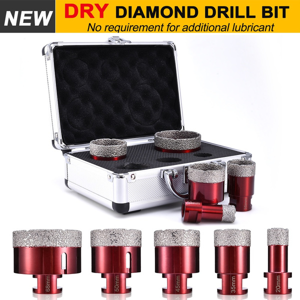 6-68mm Dry Diamond Drill Bit Drill Holesaw For Cutting Porcelain Ceramics Marble