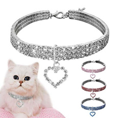 Dog Collar, Jewelry, Pets, Rhinestone