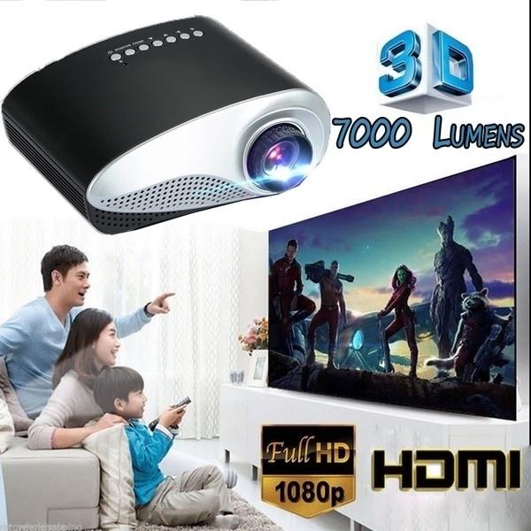 projetor4k, Fashion, miniprojector, Home & Living