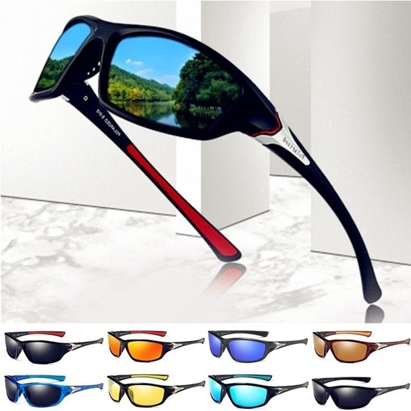 Polarized Mens Outdoor Riding Cycling Driving Sunglasses Goggles Glasses UV400