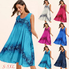 Summer, long skirt, Plus Size, Women Skirts