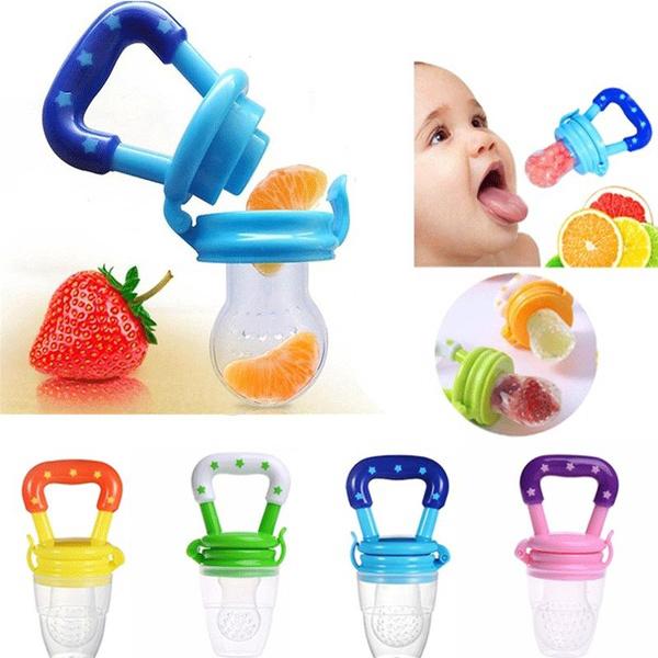 Nipple Fresh Food Milk nibbler Pacifier Feeder Feeding Tool Safe Baby Supplies