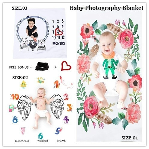 Baby Blanket Children/'s Photo Blanket Baby Photography Blanket Td270