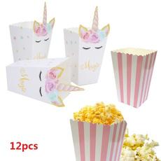 unicornparty, popcorncontainer, Decor, popcornboxe