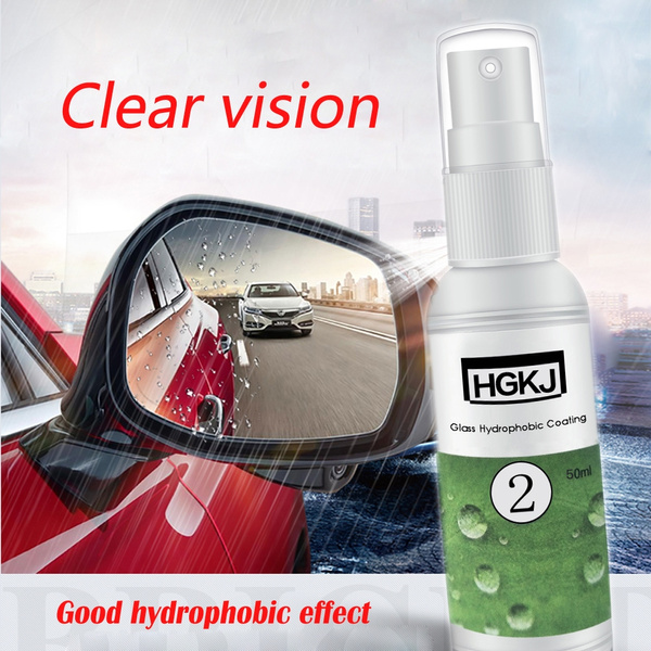 20/50ml Rearview Rainproof Car Windshield Glass Hydrophobic Coating Spray  For Waterproof Agent Water Repellent Nano Coating for Glass