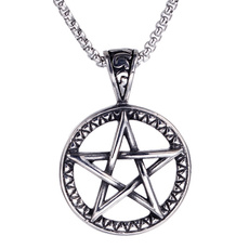 Chain Necklace, Fashion necklaces, Star, Jewelry