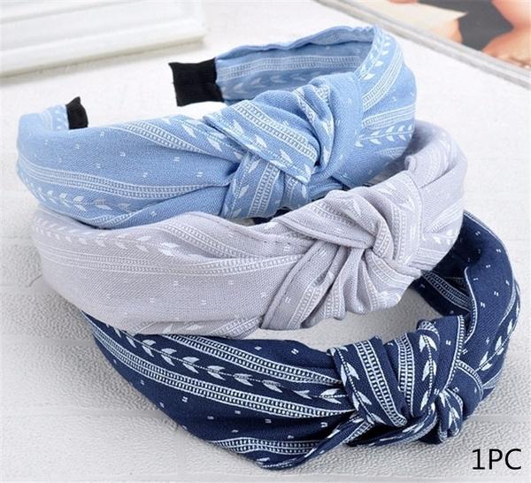 Hair Band Bow Cloth Headwrap Hoop Knot Cross Tie Women Twist Headband 1 PC NEW