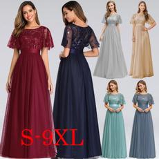 party, Fashion, Necks, plus size dress