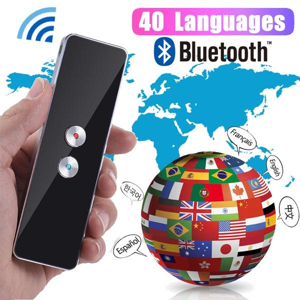 Intelligent Two-way Voice Translator Real-time Multi-language Intelligent  TranslationPortable Smart Instant Voice Translator 40+ Languages T6 T8 Real