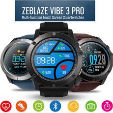 Zeblaze Vibe 3 Pro Full Round Color Screen Touch Smart Watch Men