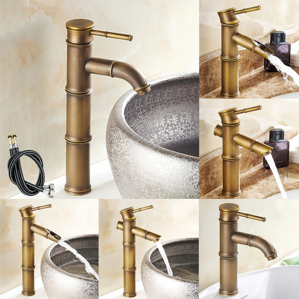 Antique Br Kitchen Faucet Copper