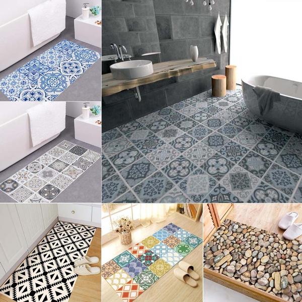 Vinyl Floor Sticker Waterproof Bathroom
