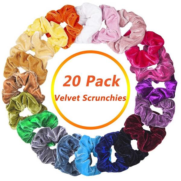 hairscrunchie, scrunchie, velvet, hair tie