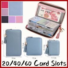 Capacity, zipfastener, purses, Credit Card Holder