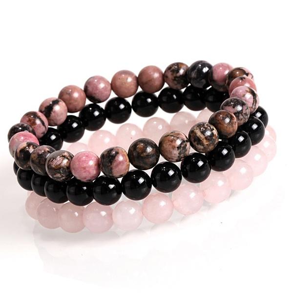 Charm Bracelet, Beaded Bracelets, Beaded, Natural