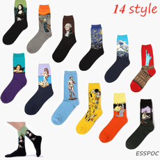 Cotton Socks, art, Invierno, starrynight