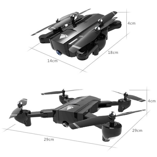 Dji Mavic Pro Clone! Eachine E58 WIFI FPV 2MP Wide Angle Camera High Hold  Mode Foldable RC Drone Quadcopter RTF Gifts Toys Kids