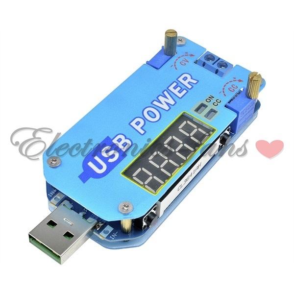 15W 2A USB Adjustable Step Up//Down Power Supply Module 5V to 3.3V 9V 12V 24V 30V