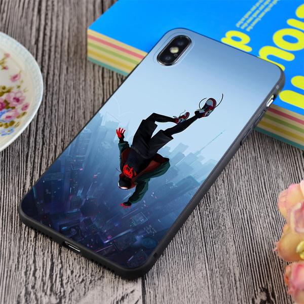Miles Morales jump iphone 11 case