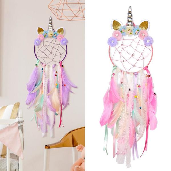 unicornpartysupplie, dreamcatchernet, Home Decor, Dreamcatcher