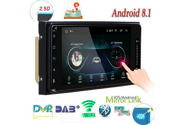Android Car Radio Autoradio GPS Car Stereo Video 7'' Touch Screen Car MP5  Player Mirror Link WIFI FM Radio Rear View Camera For Toyota Corolla