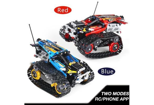 New APP Remote Control Car set Building Blocks Bricks Toys For Children  Christmas Gifts